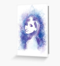 SMG Watercolor Portrait Greeting Card