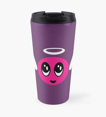 Angel Smiley (pink) VRS2 Travel Mug