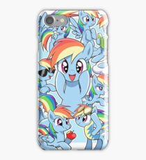 Every Rainbow Dash EVER iPhone Case/Skin