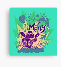 MCFLY Canvas Print