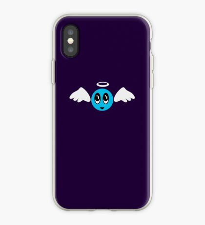 Angel Smiley (blue) VRS2 iPhone Case