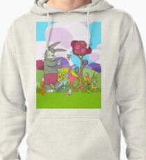 Easter Monkey's Coming to Town Pullover Hoodie