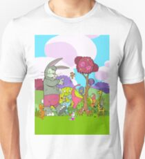 Easter Monkey's Coming to Town Unisex T-Shirt