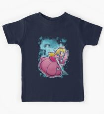 Princess Peach T-shirt Kids Clothes