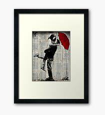 rainy day passion Framed Print