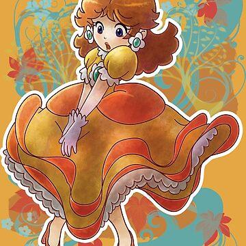 Prinzessin Daisy T-Shirt von SaradaBoru
