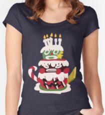 Bundt - SMRPG Cake Women's Fitted Scoop T-Shirt