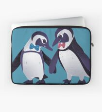 Dapper Penguins Laptop Sleeve