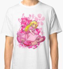 Flowery Princess Peach Classic T-Shirt