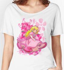 Flowery Princess Peach Women's Relaxed Fit T-Shirt