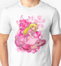Flowery Princess Peach Unisex T-Shirt