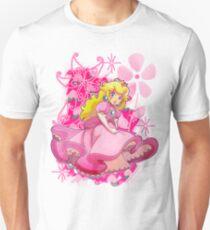 Camiseta unisex Flowery Princess Peach