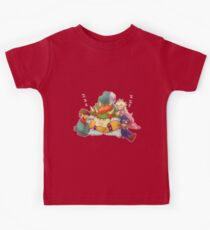 Bowser Mario Mallow Peach and Geno Kids Clothes