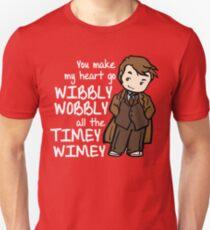 You Make My Heart Go Wibbly Wobbly Unisex T-Shirt