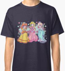 Princess Peach, Daisy and Rosalina Classic T-Shirt