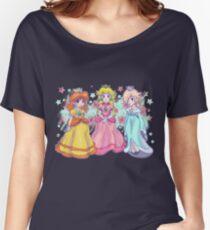 Princess Peach, Daisy and Rosalina Women's Relaxed Fit T-Shirt