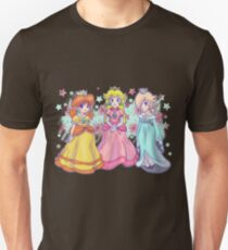 Princess Peach, Daisy and Rosalina T-Shirt