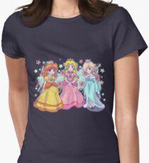 Princess Peach, Daisy and Rosalina Women's Fitted T-Shirt