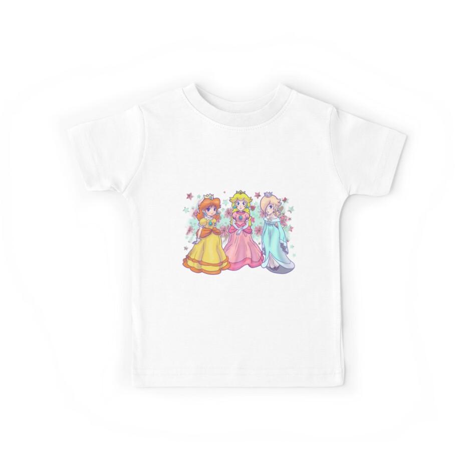 Princess Peach, Daisy and Rosalina by SaradaBoru
