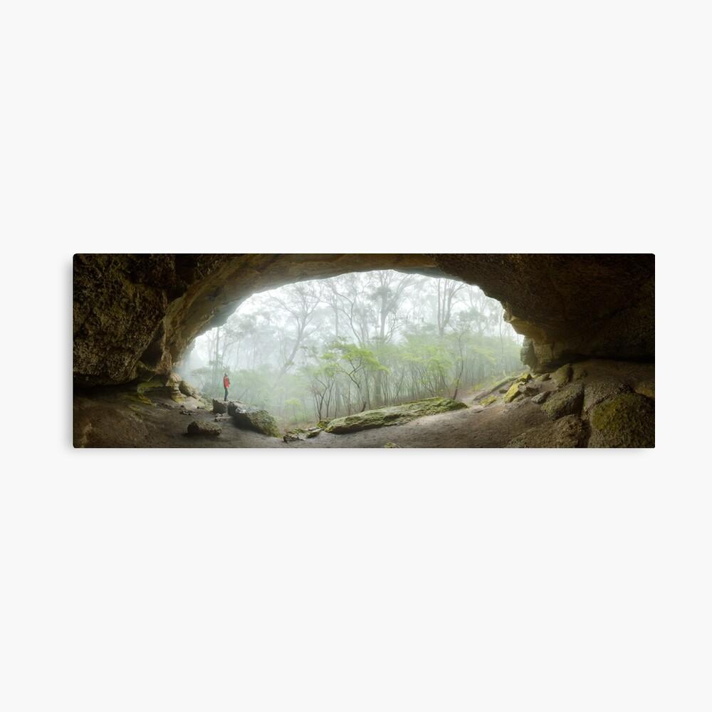 Dance Floor Cave, Kanangra Boyd National Park, New South Wales, Australia Canvas Print