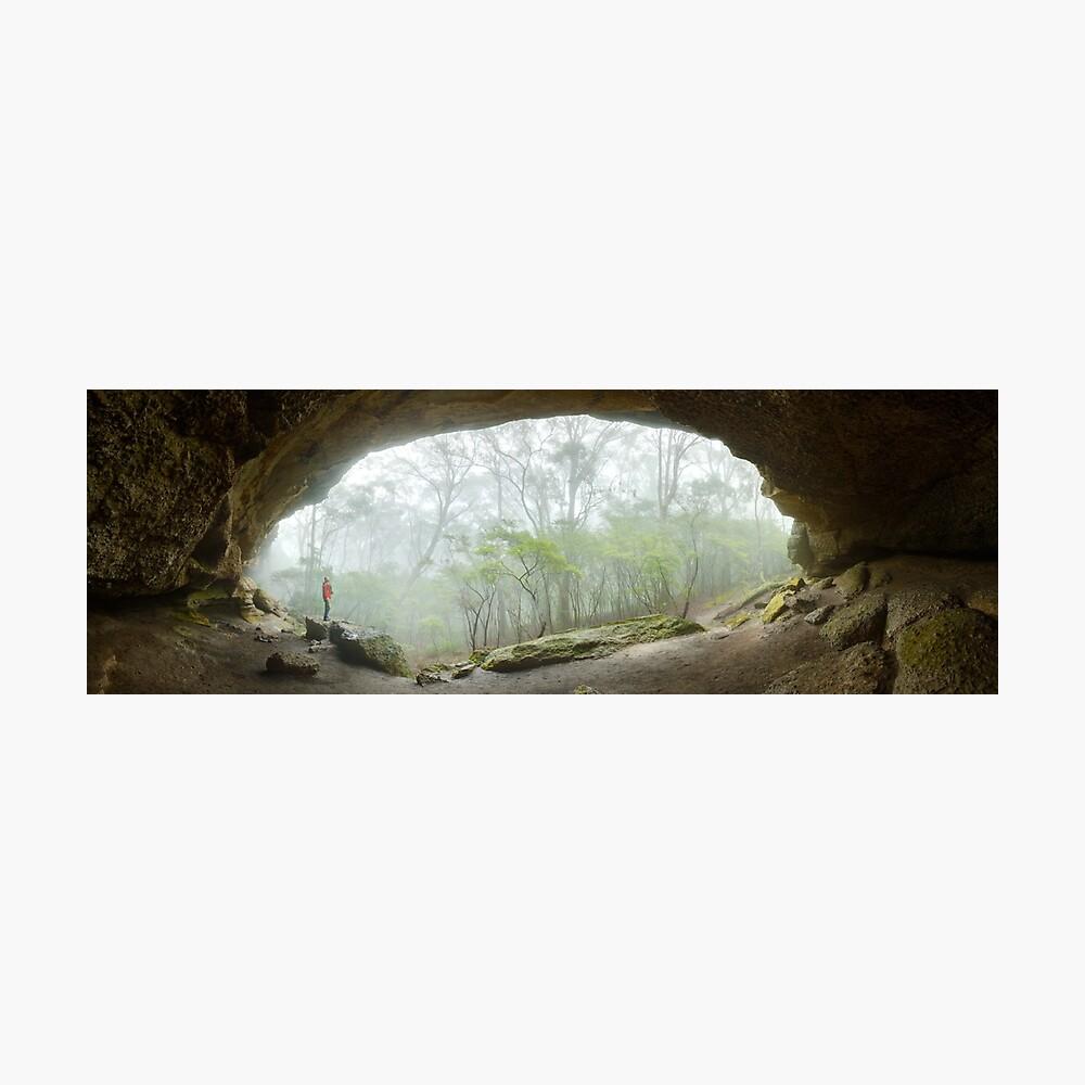 Dance Floor Cave, Kanangra Boyd National Park, New South Wales, Australia Photographic Print