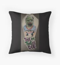 Trick or Treat or Die Throw Pillow