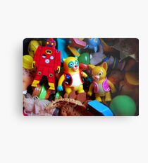Party in the Box Metal Print