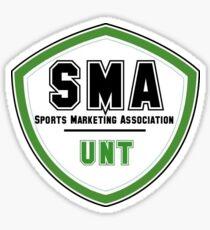 UNT Sports Marketing Association Sticker