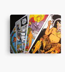 The Tarot Canvas Print