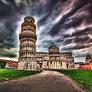 Leaning Tower of Piza.  by Larrikin  Photography