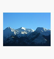 Mission Mountains in Winter Photographic Print