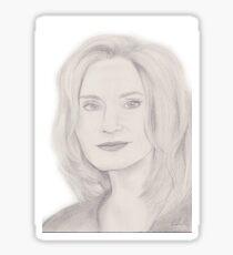 Jessica Lange Sticker