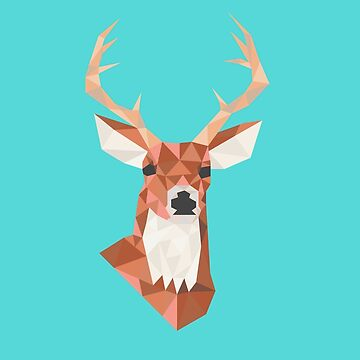 Geometric Deer by ZantheClothing