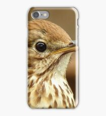 I'm As Beautiful As My Song Is..! - Song Thrush - NZ iPhone Case/Skin