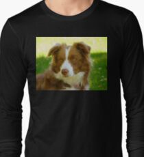 Agility & Intensity Are My Middle Names!! - Border Collie - NZ Long Sleeve T-Shirt