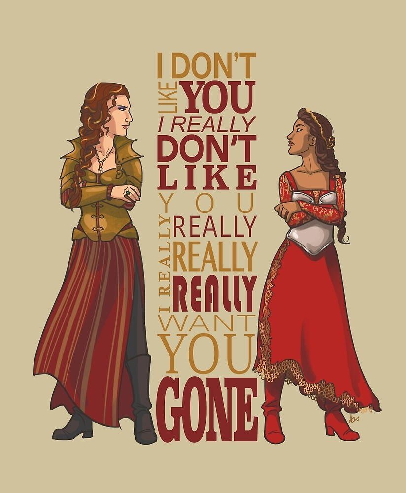 Galavant - I Don't Like You by alicianpadron