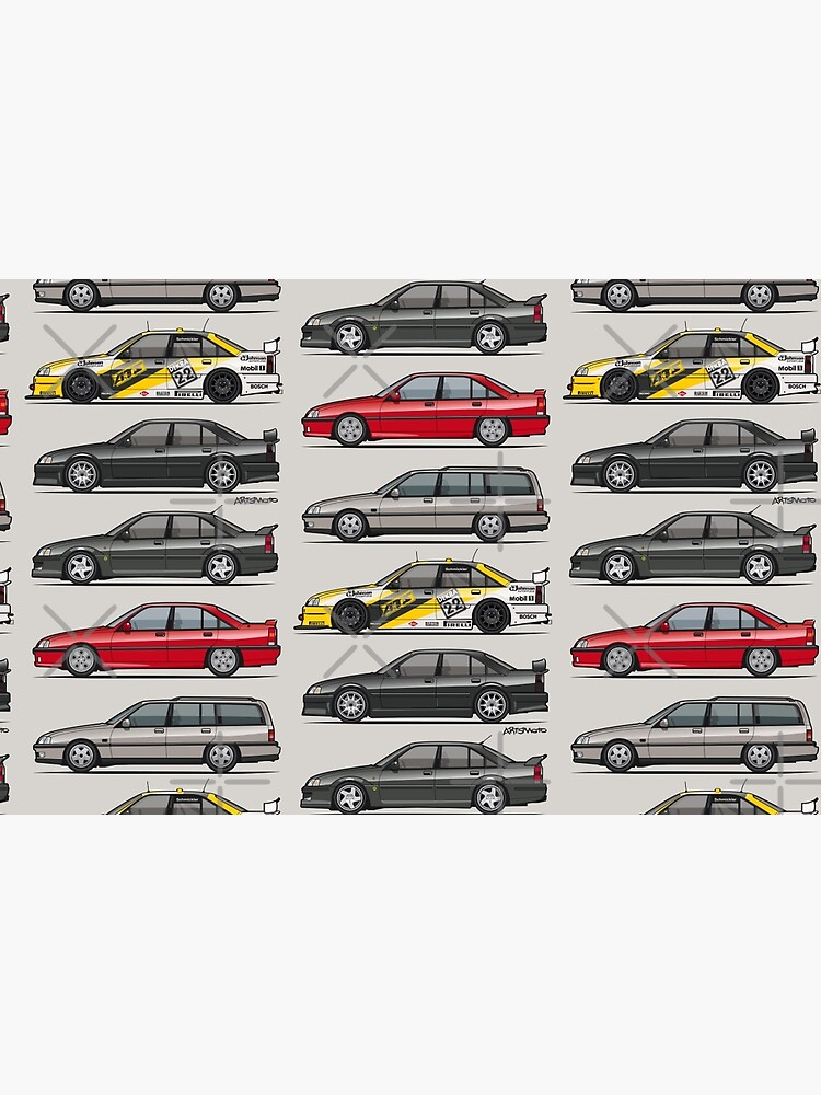 Stack of Opel Omegas / Vauxhall Carlton A by monkeycom