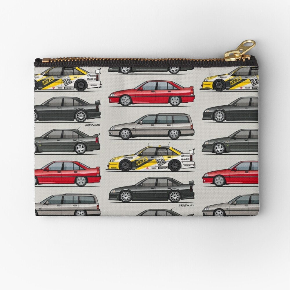 Stack of Opel Omegas / Vauxhall Carlton A Zipper Pouch