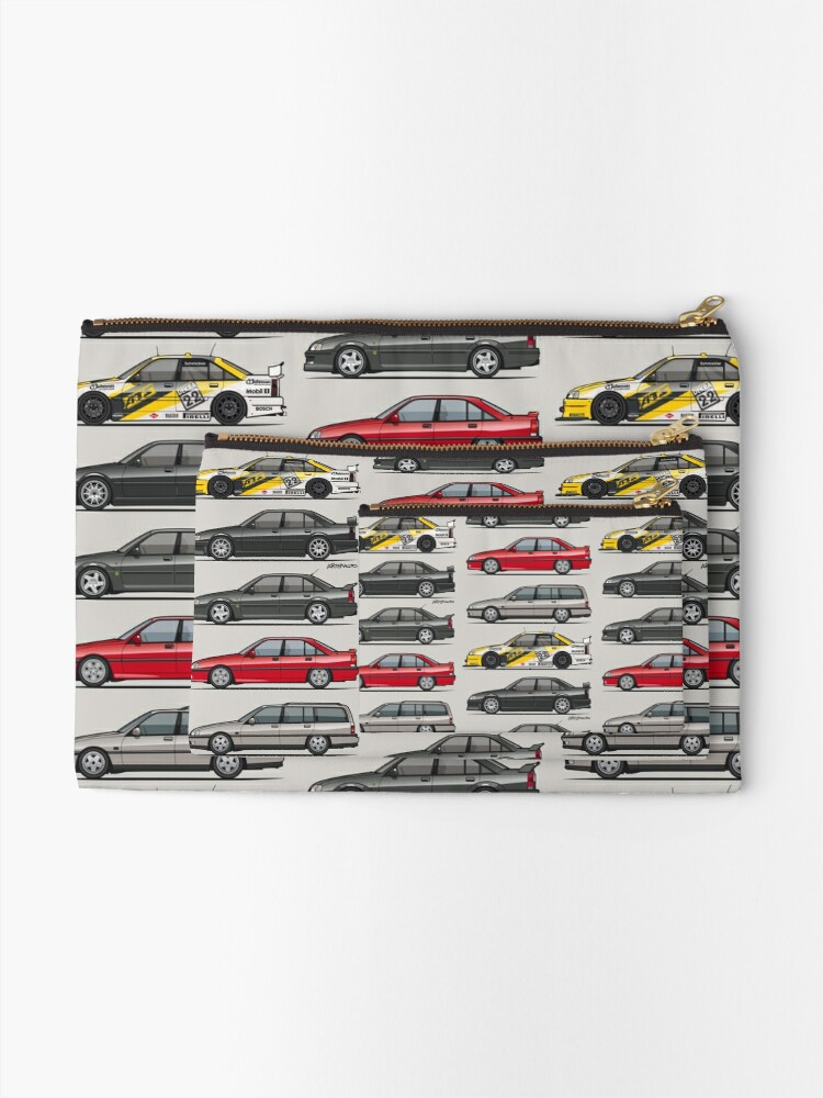 Alternate view of Stack of Opel Omegas / Vauxhall Carlton A Zipper Pouch