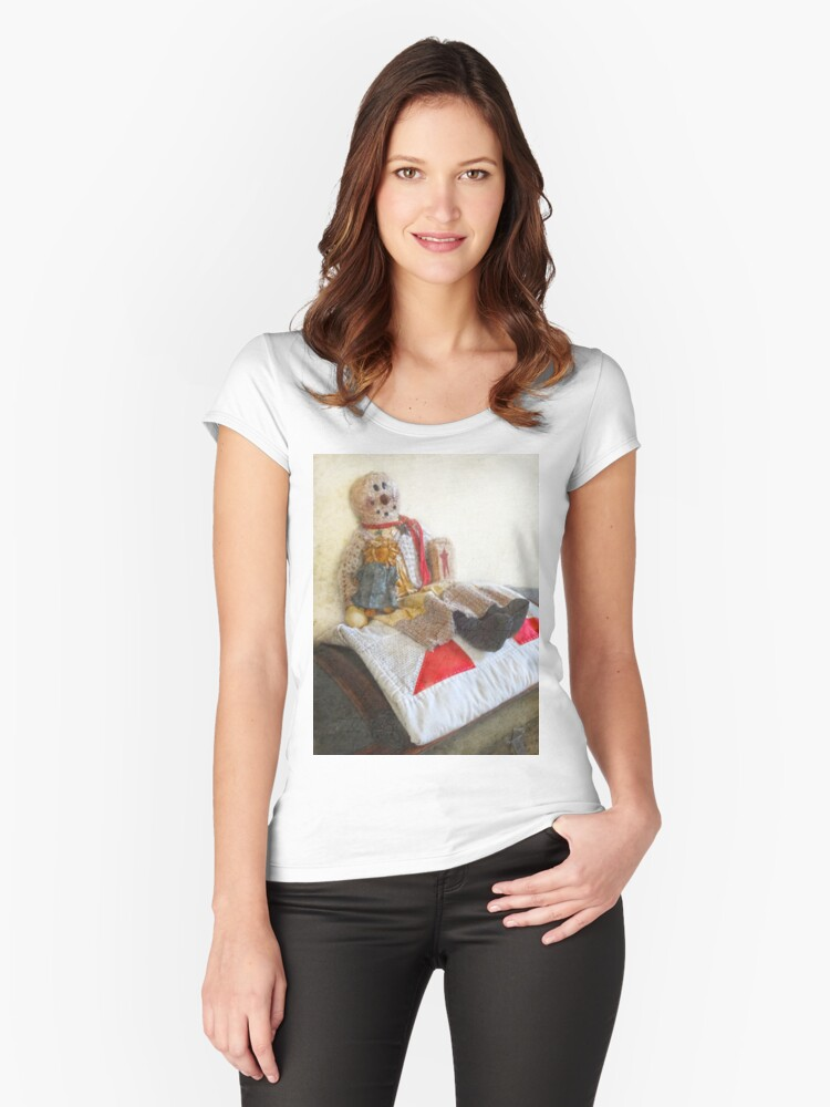 Primitive Doll Women's Fitted Scoop T-Shirt Front