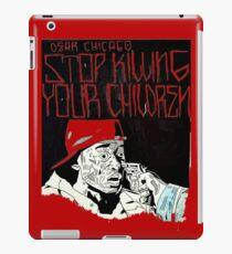 Vinilo o funda para iPad Limpio - Stop the Violence Chicago