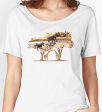 African Nature Women's Relaxed Fit T-Shirt