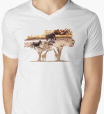 African Nature Men's V-Neck T-Shirt