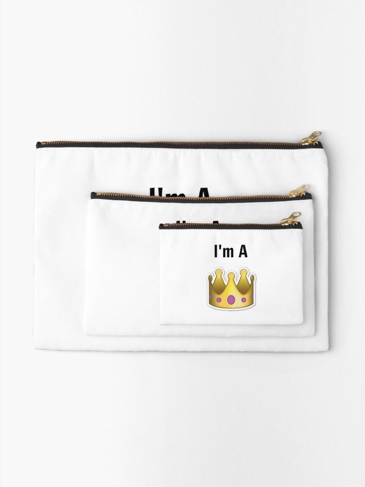 Alternative Ansicht von Ich bin eine Königin Täschchen