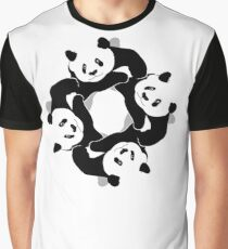 PANDA PLAY Graphic T-Shirt