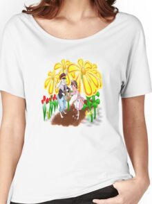 Among The Spring-Flowers Women's Relaxed Fit T-Shirt