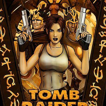 Tomb Raider 1/Anniversary 1996/2007 by KEITHBYRNEFX