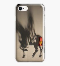 Horse projection iPhone Case/Skin