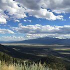 Color Photo of the Rockies and Akansas River Valley by Marcie Alban