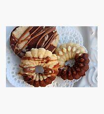 Teatime Cookies Photographic Print